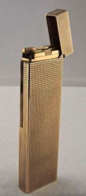 S.T. lighter.  Desktop gold Dupont 1979