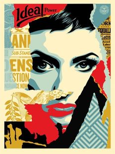 Shepard Fairey (OBEY) - Ideal Power