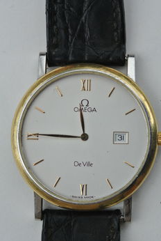 Omega De Ville -- Men's wristwatch -- 1980s-1990s