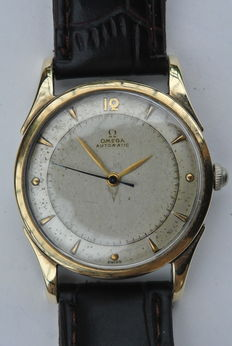 OMEGA Cal 30.10 RA PC -- men's wristwatch -- 1947