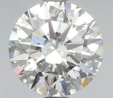 0.51 Carat Round Brilliant Diamond, D IF Cert: IGI #460