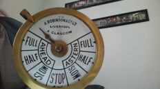 A. Robinson & Co Ltd ship's telegraph head - first half of the 20th century