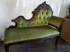 Hall bench in Victorian style, England, first half  of 20th century