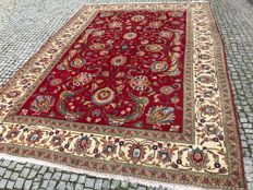Persian / Iran Tabriz Rug-345x235cm -hand knotted - SIGNATURE IN WOOL