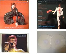"""David Bowie  2 LP Set  """"New York's A Go - Go""""  -  Limited Edition FANCLUB Release Of 500 Copies Only  !!"""