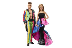 collectible Moschino Barbie and Ken collector's edition