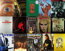 Blues/Hard/Heavy Folk/Rock Collection of  15 LP Albums in 15 LP