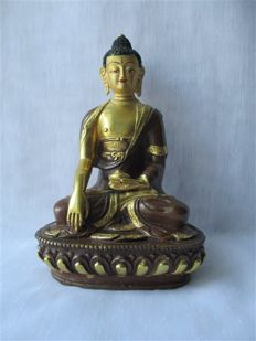 Buddha statue - India - End of 20th century.