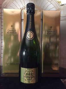 2005 Charles Heidsieck Champagne Brut – 3 bottles (75cl) each in original box