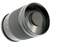 Opteka 500mm f/8 mirror lens (m42 mount)