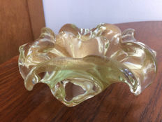 Attr. Barovier & Toso - Flower-Shaped Glass Bowl.