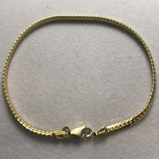 Bracelet in 18 kt yellow gold – 19 cm *** no reserve price ***