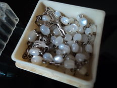 Freshwater pearls rosary dating back to the second half of the 20th century