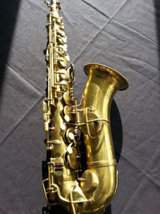 Professional vintage alto saxophone known from, among others, Charlie Parker