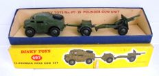 Dinky Toys - Scale ca 1/48 - 25-pound Gun Unit - No. 697