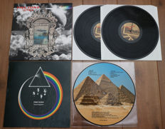 Pink Floyd- lot of 2 limited edition lp's: Venice 2lp (comes w. wonderfully designed gatefold sleeve) & Travel Sequence picture disc lp (500 copies only, Live at The Rainbow Theatre, London, 1972)