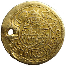 Ottoman Empire - gold coin as pendant