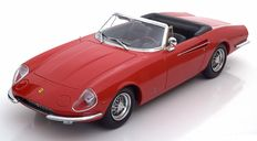 KK Scale - Scale  1/18 - Ferrari 365 California Spyder 1966 - Colour: Red
