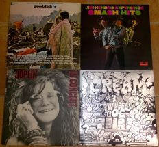 Woodstock and others altogether 12 LPs