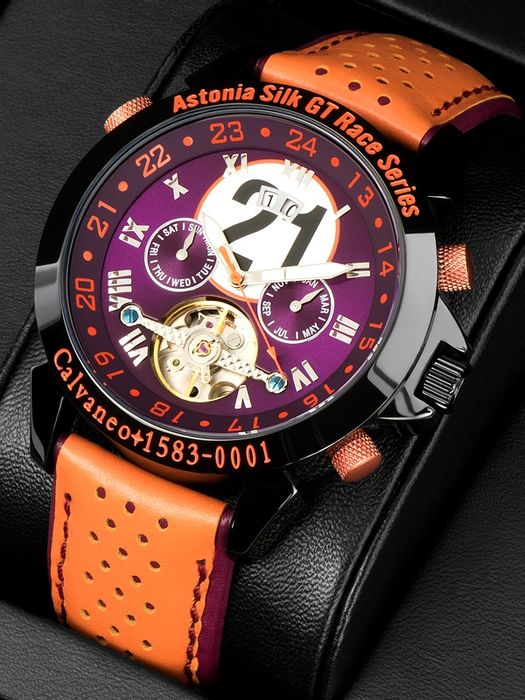 "Calvaneo 1583 Astonia ""Silk Race"" Limited Automatik Racewatch - Men - 2011-present"