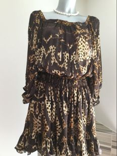 Roberto Cavalli – beautiful silk dress - very feminine
