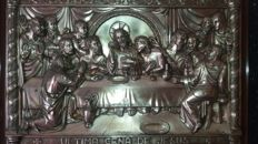 Last supper - 20th century - bronze.
