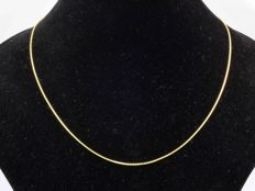 18k Gold. Anchor Chain. Length 45 cm. - No Reserve