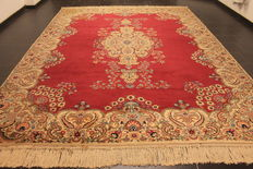Antique hand-knotted Art Nouveau Persian palace carpet – Lawer Kerman – 280 x 380 cm – made in Iran