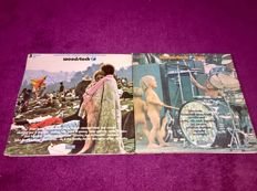 """Lot - Woodstock One + Woodstock Two """"Three Days of Peace and Music"""" in 5 live albums Both On Cotillion Label!"""