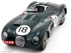 AUTOart - 1/18 Scale - Jaguar C Type #18 Le Mans Winner 1953