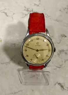 Cyma men's watch – 1950s
