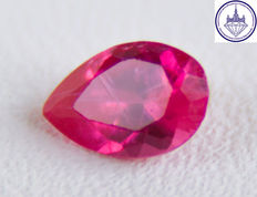 Ruby 0.49 ct. No reserve.