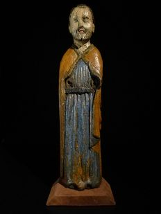 Wooden apostle figure/Saint -15th century