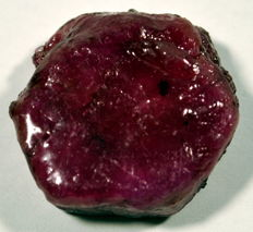 Red Ruby natural rough specimen - 24,19 x 22,10 x 10,86 mm  - 57,05 ct