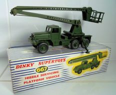 Dinky Supertoys - Scale 1/48 - Missile Servicing Platform Vehicle - No. 667
