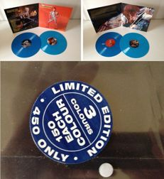 "David Bowie  2 LP Set  ""Demanding Billy Dolls and Other Friends Of Mine""  -  Only 150 Copies On Blue Vinyl !!"