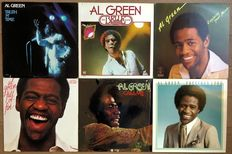 "Al Green: lot of six lp's ""Truth n time"" ""The belle album"" ""Explores your mind"" ""Full of fire"" ""Call me"" and ""Precious Lord"""