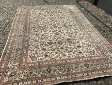 Perfect Persian / Iran Kashan Rug-350x250cm -hand knotted
