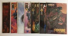 Witchblade - 7 rare variants - 7 x sc - 1st edition - (1999/2001)