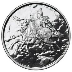 USA – medals 2016 'Nordic Creatures – Sleipnir' with box & certificate – 1 oz silver