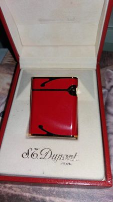 S.T DUPONT SOUBRENY CHINESE AND RED LACQUER