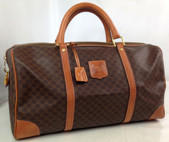 Céline - Macadam Boston handbag holdall - Catawiki 13b48463833