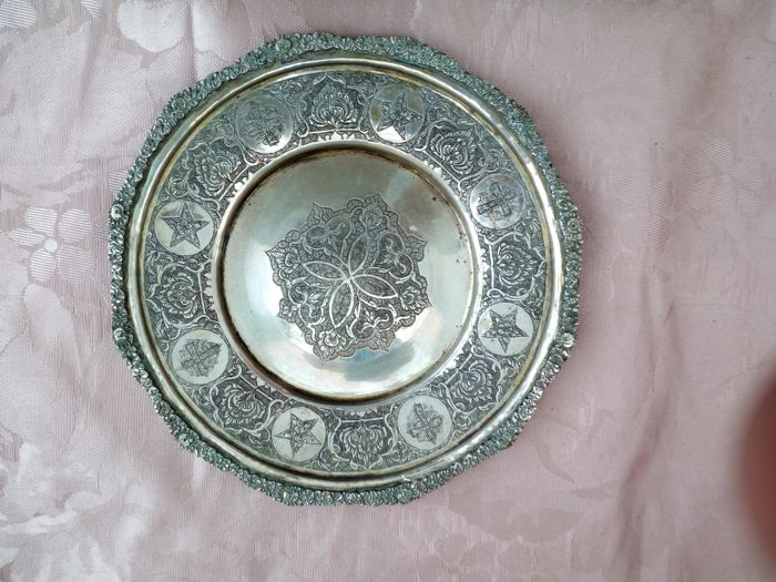 Silver paten, possibly Italy, first half of the 19th century