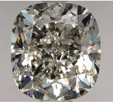 1.01 Carat Cushion Modified  Brilliant  Diamond, H IF, Serial# - 465