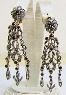 Original earrings, early 1900s