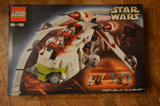 Star Wars - 7163 - Republic Gunship