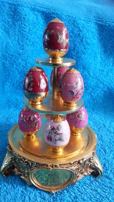 "House of fabergè - fabergè eggs, "" ruby garden """