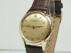 Girard Perregaux Gyromatic – men's watch – 14 kt solid gold - 1950s