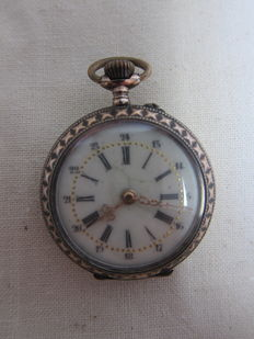 Women's Pocket Watch, Cylindre 10 Rubis – Circa 1900