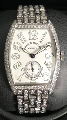 Franck Muller Casablanca with 502 Brilliants